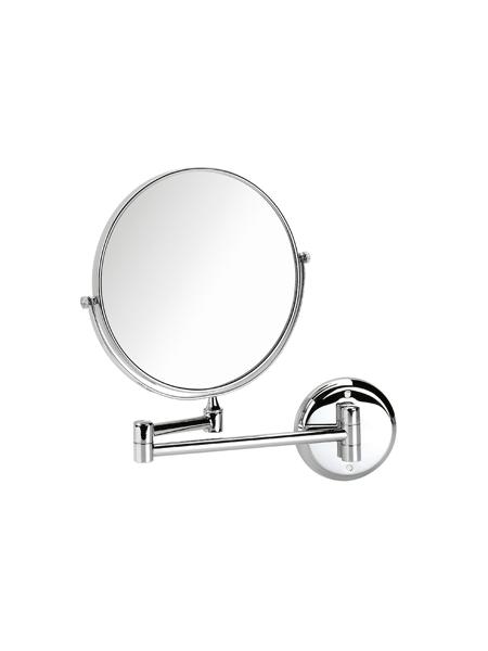 Espejo cromado de aumento x3 barra articulada. Espejo de aumento extensible fabricado en acero inoxidable y latón cromado de tres aumentos