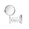 Espejo cromado de aumento x3 barra extensible. Espejo de aumento extensible fabricado en acero inoxidable y latón cromado de tres aumentos
