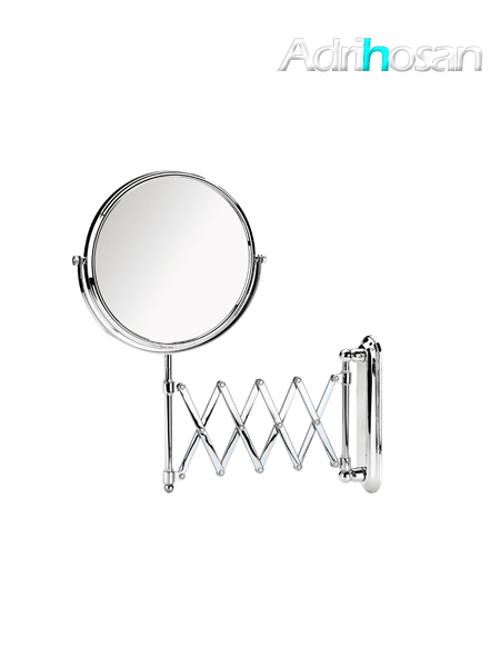 Espejo cromado de aumento x3 barra extensible