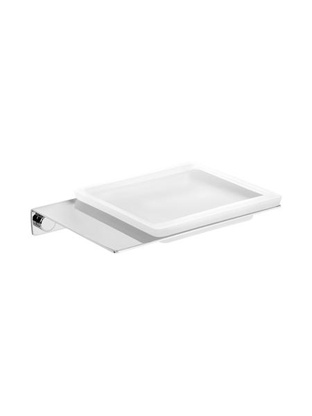 Jabonera a pared serie Castellón- Accesorio de baño. Accesorio de baño fabricado en latón de primera calidad acabado cromo.