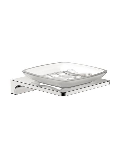 Jabonera a pared serie Líria- Accesorio de baño. Accesorio de baño fabricado en acero inoxidable de primera calidad acabado Cromo.