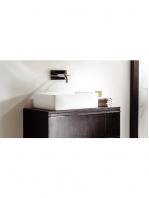 Lavabo Solid Surface rectangular Matera 68 x 39 x 15 cm. Un lavabo tipo abrevadero de gran longitud fabricado en brillo o mate en Solid Surface.