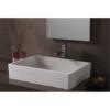 Lavabo Solid Surface rectangular Milano 50 x 35 x 11 cm. Un lavabo con bonita forma estilizada fabricado en brillo o mate en Solid Surface.