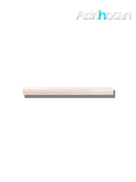 Listelo pasta blanca metro Ocean 2.5x30 cm