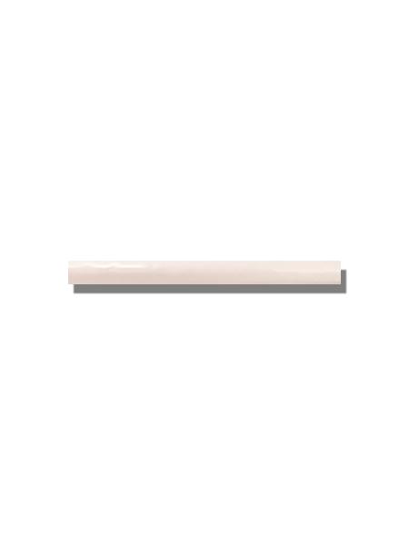 Listelo pasta blanca metro Ocean 2.5x30 cm. Un azulejo clásico fabricado con pasta blanca ideal para decoraciones retro y vintage.
