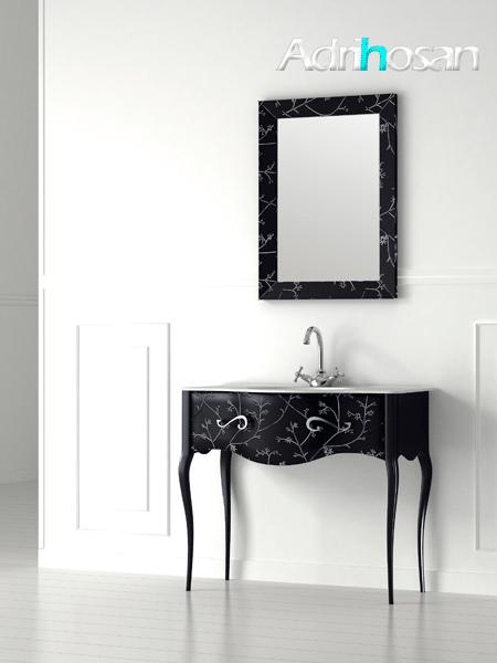 Mueble de baño de diseño a suelo Vivaldi de 1 cajón Fiora