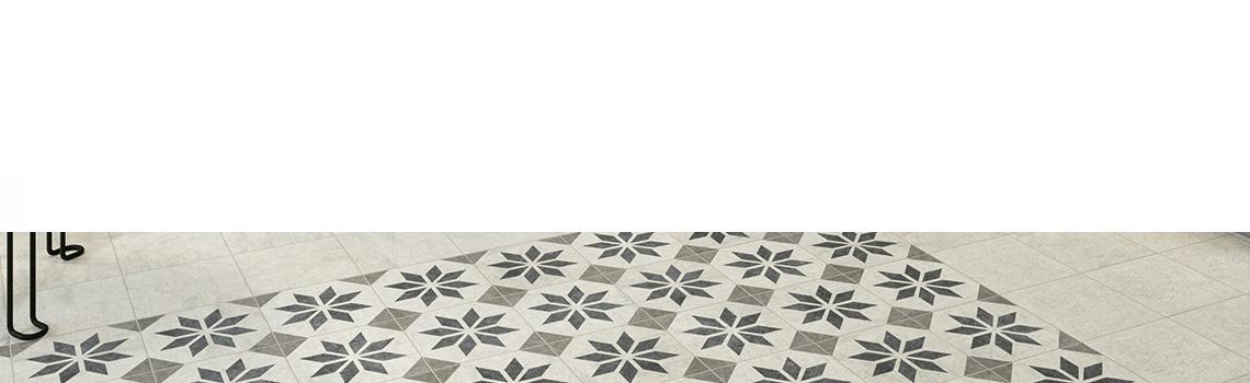 Pavimento imitación hidráulico Victoria 20x20 cm. Diseños del pasado con tecnología del presente, azulejo para paredes y suelos vintage.