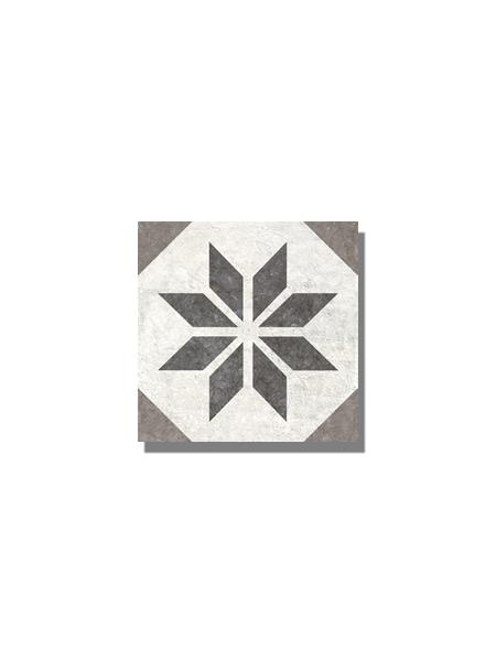 Pavimento imitación hidráulico Victoria old 20x20 cm. Diseños del pasado con tecnología del presente, azulejo para paredes y suelos vintage.