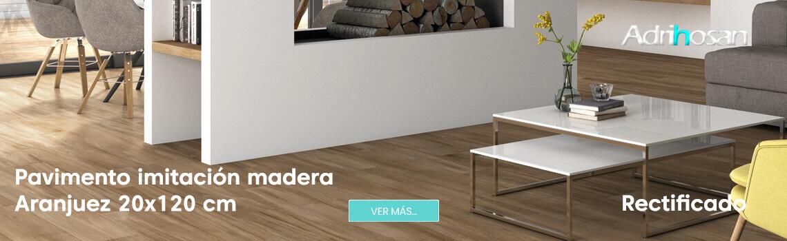 Pavimento porcelánico Aranjuez 20x120 cm