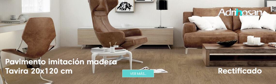 Pavimento porcelánico Tavira 20x120 cm