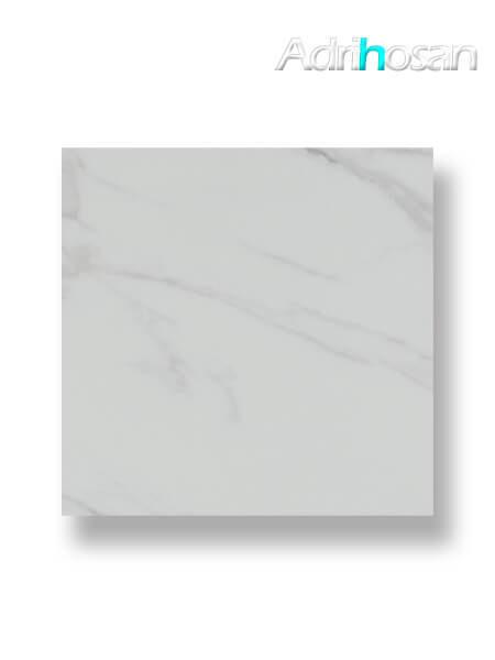 Pavimento porcelánico rectificado Calacatta brillo 75 x 75 cm (1.69 m2/cj)