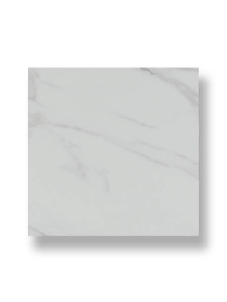 Pavimento porcelánico rectificado Calacatta pulido.