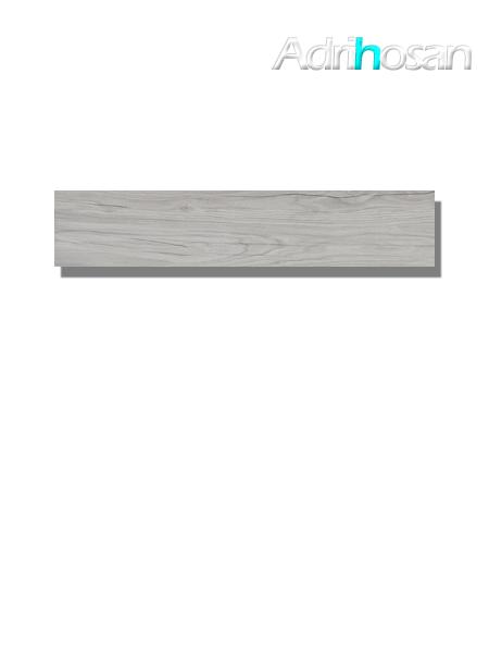 Pavimento porcelánico rectificado Praga Grey 22.5 x 119.5 cm (1.61 m2/cj)