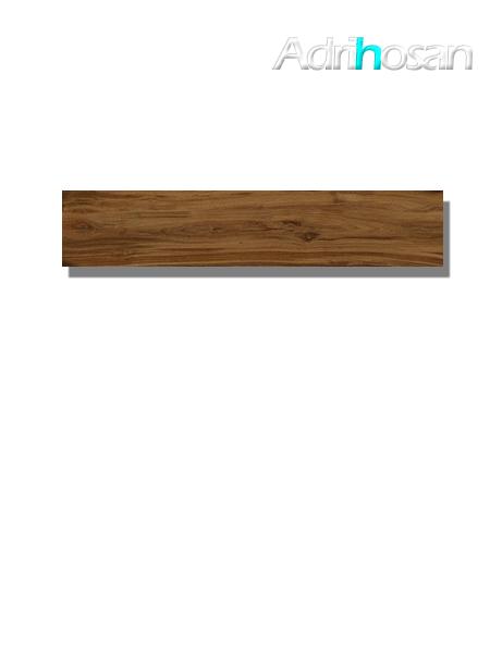 Pavimento porcelánico rectificado Praga Oak 22.5 x 119.5 cm (1.61 m2/cj)