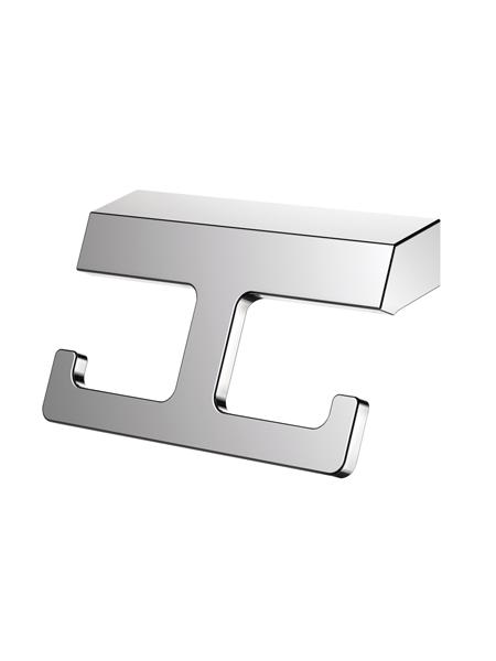 Percha a pared serie Líria- Accesorio de baño. Accesorio de baño fabricado en acero inoxidable de primera calidad acabado Cromo.