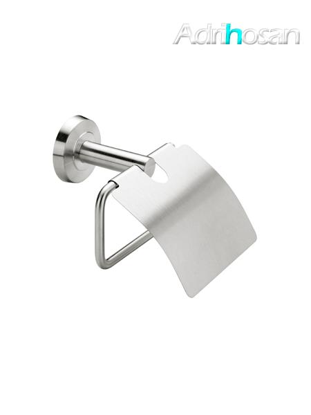Portarrollo con tapa a pared serie Vizcaya - Accesorio de baño