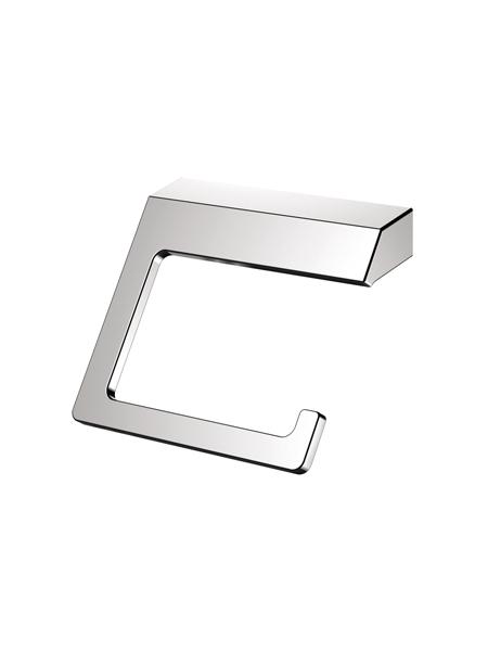 Portarrollo sin tapa a pared serie Líria- Accesorio de baño. Accesorio de baño fabricado en acero inoxidable de primera calidad acabado Cromo.