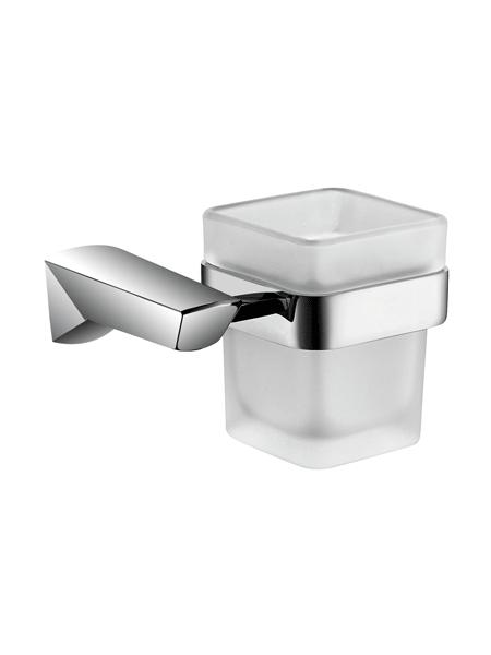 Portavaso a pared serie Alicante - Accesorio de baño. Accesorio de baño fabricado en latón de primera calidad acabado cromo.