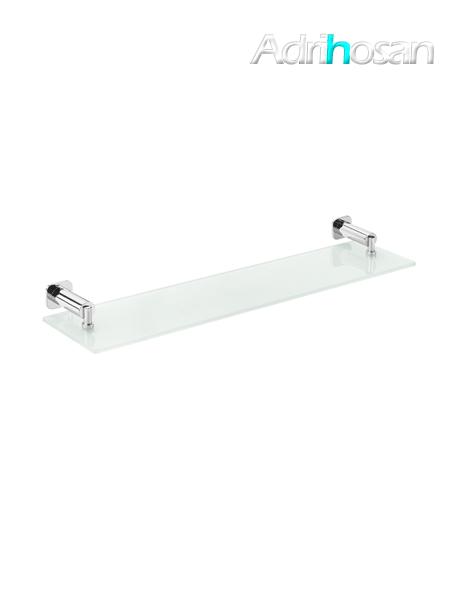 Repisa de cristal a pared serie Bilbao- Accesorio de baño