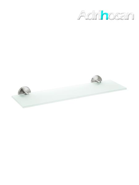 Repisa de cristal a pared serie Vizcaya - Accesorio de baño