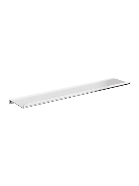 Repisa a pared serie Castellón- Accesorio de baño. Accesorio de baño fabricado en latón de primera calidad acabado cromo.