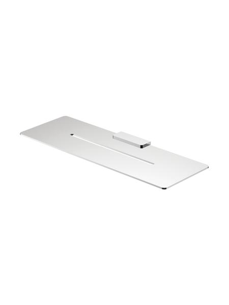 Repisa a pared serie Líria- Accesorio de baño. Accesorio de baño fabricado en acero inoxidable de primera calidad acabado Cromo.