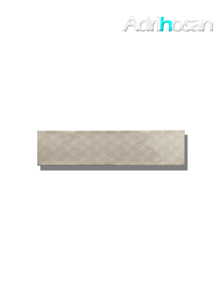 Revestimiento decorado pasta blanca metro Ocean 7.5x30 cm (1 m2/cj)