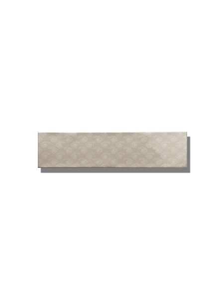 Revestimiento decorado pasta blanca metro Ocean 7.5x30 cm. Un azulejo clásico fabricado con pasta blanca ideal para decoraciones retro y vintage.