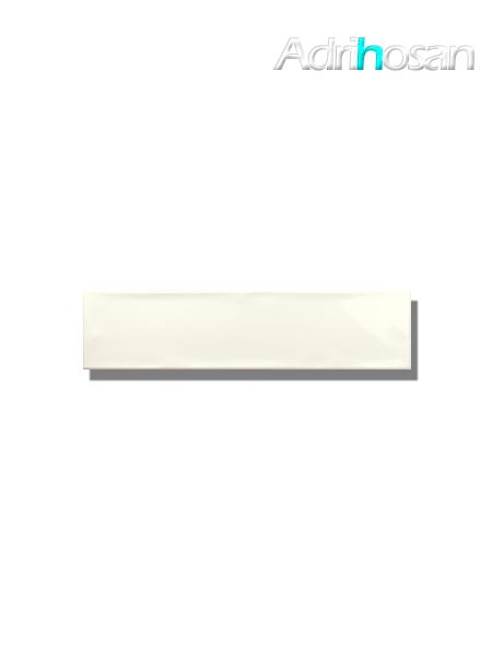 Revestimiento pasta blanca metro Ocean Ivory 7.5x30 cm (1 m2/cj)