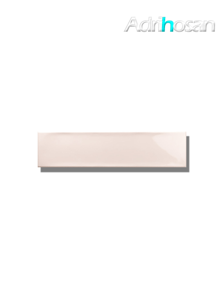 Revestimiento pasta blanca metro Ocean pink 7.5x30 cm (1 m2/cj)