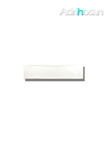 Revestimiento pasta blanca metro Ocean white 7.5x30 cm (1 m2/cj)