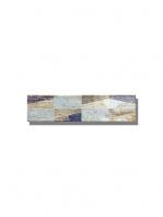 Revestimiento decorado pasta blanca metro Ocean wood mix 7.5x30 cm. Un azulejo clásico fabricado con pasta blanca ideal para decoraciones retro y vintage.