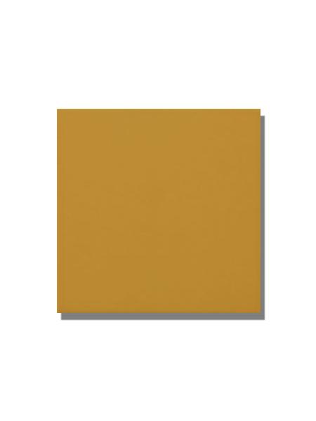 Revestimiento pasta roja liso Amarillo brillo 20x20 cm. Un azulejo clásico válido para revestir paredes con 14 colores disponibles en dos acabados.