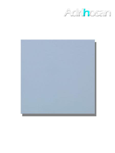 Revestimiento pasta roja liso Azul claro brillo 20x20 cm (1 m2/cj)