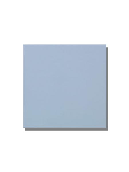 Revestimiento pasta roja liso Azul claro brillo 20x20 cm. Un azulejo clásico válido para revestir paredes con 14 colores disponibles en dos acabados.
