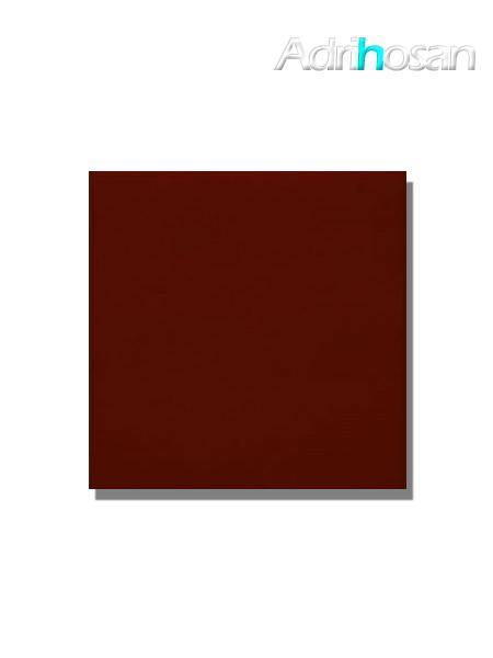 Revestimiento pasta roja liso burdeos mate  20x20 cm (1,40 m2/cj)
