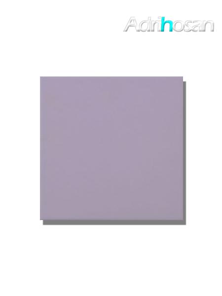 Revestimiento pasta roja liso Lila mate 20x20 cm (1,40 m2/cj)