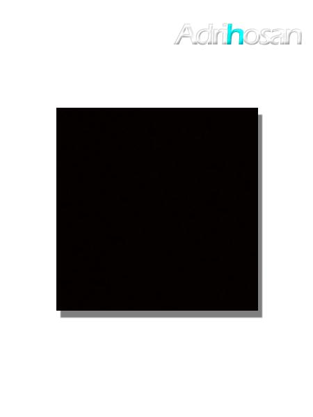 Revestimiento pasta roja liso Negro brillo 20x20 cm (1,40 m2/cj)