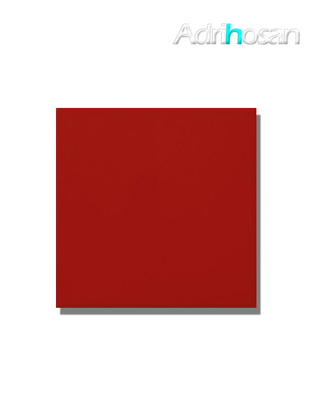 Revestimiento pasta roja liso Rojo mate 20x20 cm (1,40 m2/cj)