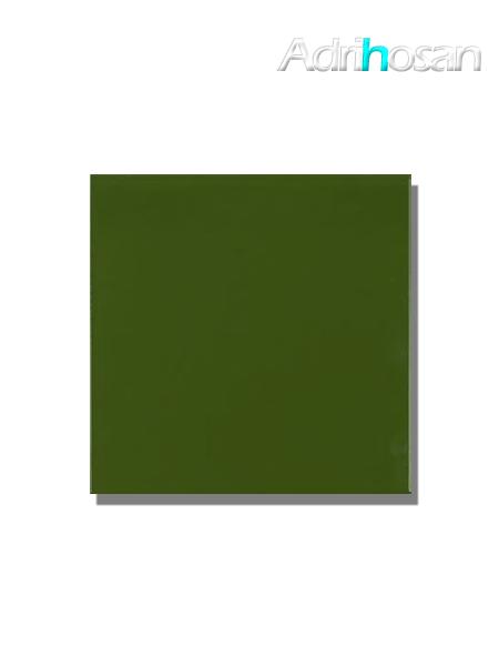 Revestimiento pasta roja liso Verde botella brillo 20x20 cm (1,40 m2/cj)