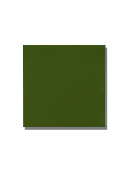 Revestimiento pasta roja liso Verde botella brillo 20x20 cm. Un azulejo clásico válido para revestir paredes con 14 colores disponibles en dos acabados.