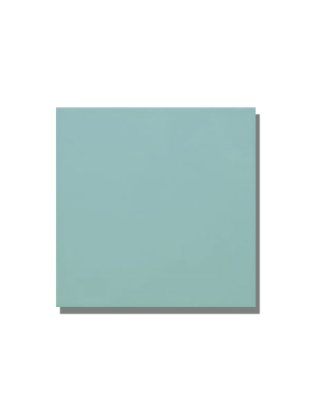 Revestimiento pasta roja liso Verde fuerte mate 20x20 cm. Un azulejo clásico válido para revestir paredes con 14 colores disponibles en dos acabados.