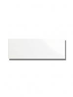 Azulejo liso blanco brillo 10X30 cm. El clásico azulejo para decoraciones retro o vintage o incluso modernas o minimalistas. Primera calidad.