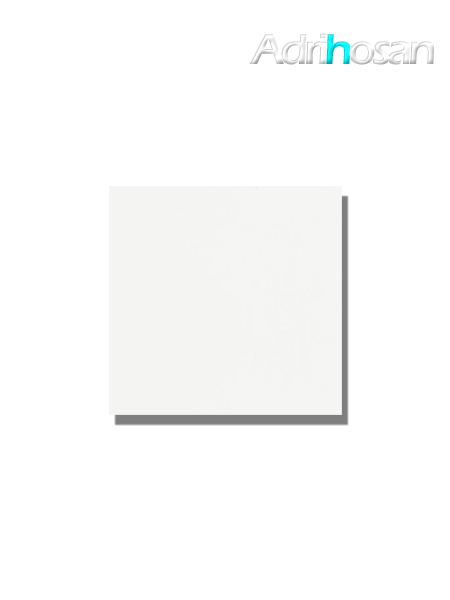 Azulejo liso blanco mate 15x15 cm (1 m2/cj)