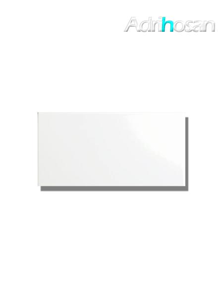 Azulejo liso blanco mate 15X30 cm (0.99 m2/cj)