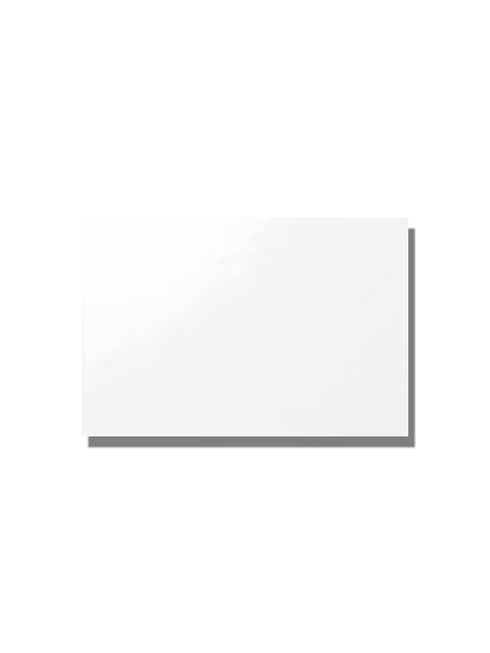 Azulejo liso blanco brillo 20x30 cm. El clásico azulejo para decoraciones retro o vintage o incluso modernas o minimalistas. Primera calidad.