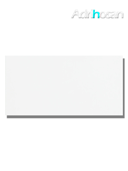 Azulejo liso blanco mate 20X40 cm (1.20 m2/cj)