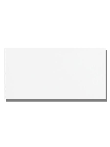 Azulejo liso blanco brillo 20X40 cm. El clásico azulejo para decoraciones retro o vintage o incluso modernas o minimalistas. Primera calidad.