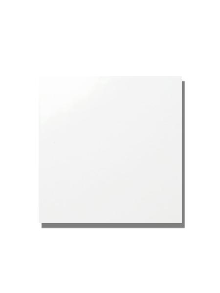Azulejo liso blanco brillo 30x30 cm. El clásico azulejo para decoraciones retro o vintage o incluso modernas o minimalistas. Primera calidad.