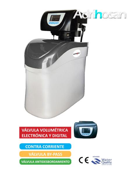 Descalcificador volumétrico 8 litros radikal contra 8